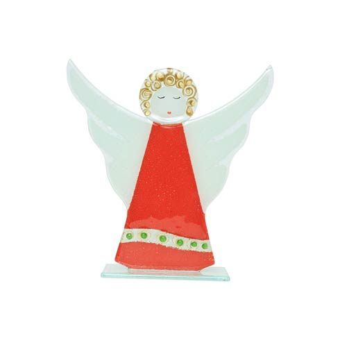 $62.00 Angel in Red Dress