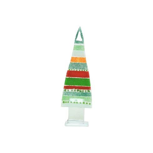 $41.00 Glass Trees and Angels Stripe Small Tree