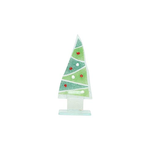 $41.00 Glass Trees and Angels Zigzag Small Tree