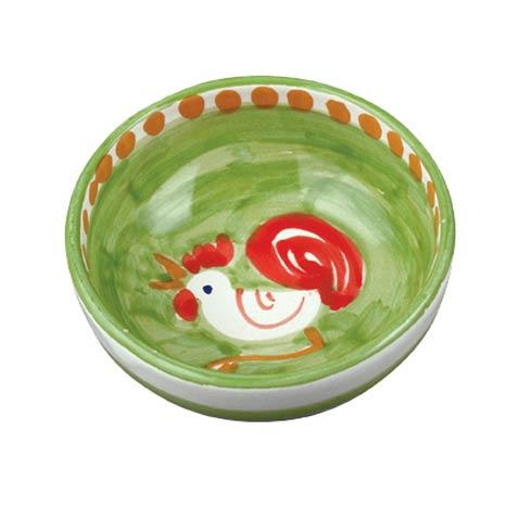 Vietri Campagna Gallina (Rooster) Olive Oil Bowl $30.00