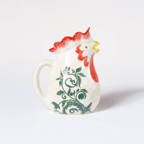 Rooster Small Pitcher