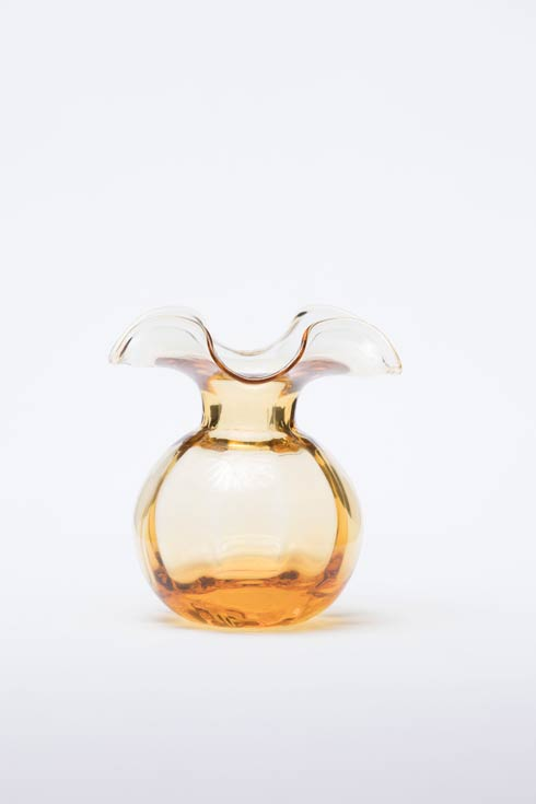 $54.00 Amber Bud Vase