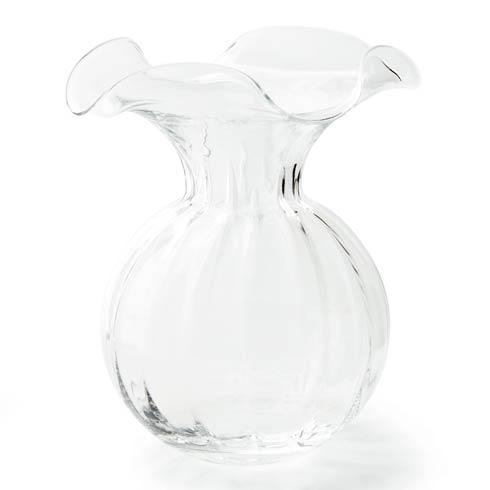 Vietri  Hibiscus Large Fluted Vase $130.00