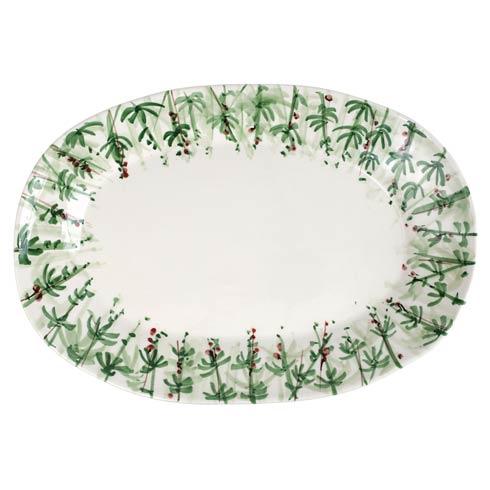 VIETRI  Erbe Rosemary Large Oval Platter $189.00