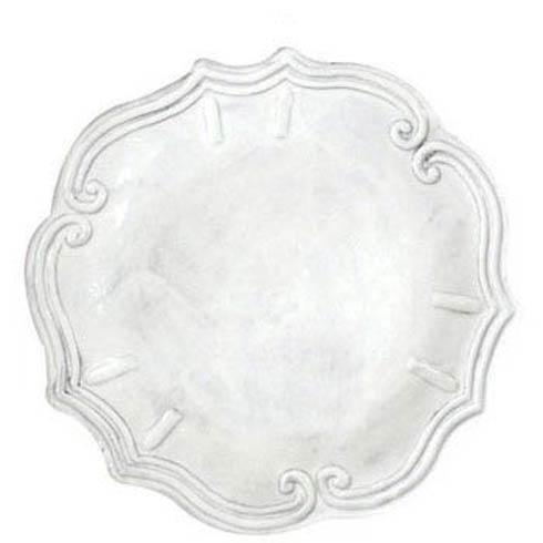 Vietri Incanto White Baroque Dinner Plate $50.00
