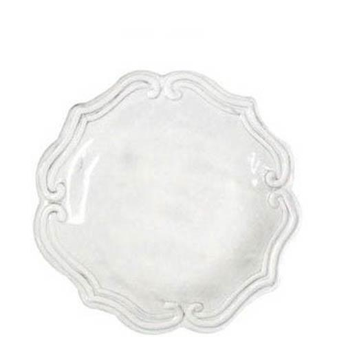 VIETRI Incanto White Baroque Salad Plate $44.00