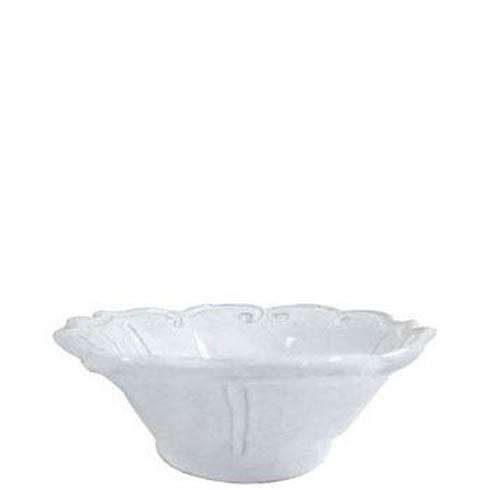 VIETRI Incanto White Baroque Cereal Bowl $44.00