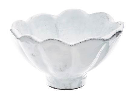 VIETRI Incanto White Scallop Condiment Bowl $29.00