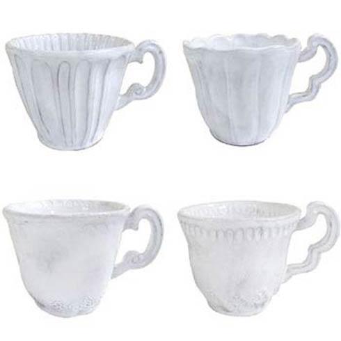 Vietri Incanto White Asst Mug $43.00