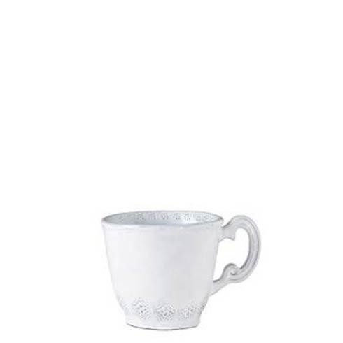 Vietri Incanto White Lace Mug $43.00