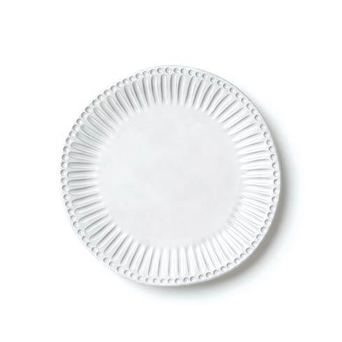VIETRI Incanto White Stripe European Dinner Plate $46.00