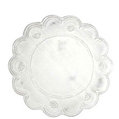 VIETRI Incanto White Lace Service Plate/Charger $87.00