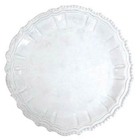 VIETRI Incanto White Baroque Round Platter $156.00