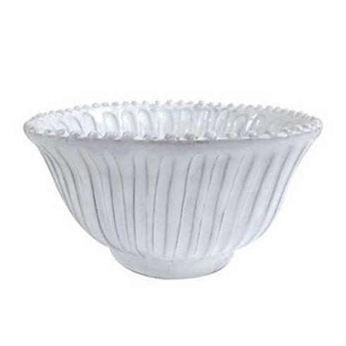 Vietri Incanto White Incanto Stripe Small Serving Bowl $73.00