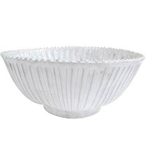 Vietri Incanto White Stripe Large Serving Bowl $183.00