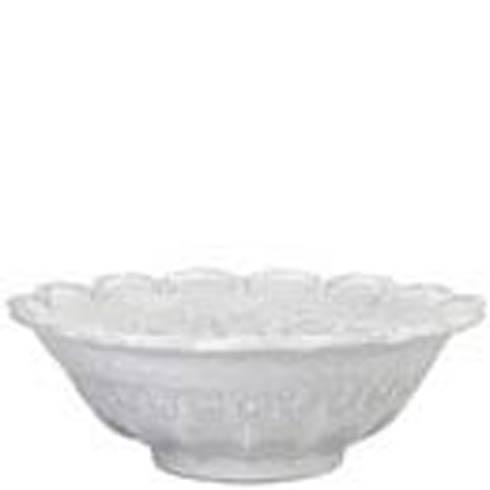 VIETRI Incanto White Lace Large Bowl $221.00