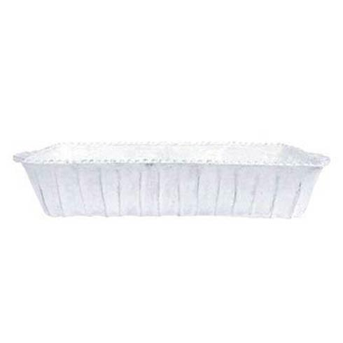 VIETRI Incanto White Stripe Medium Rectangular Baking Dish $175.00