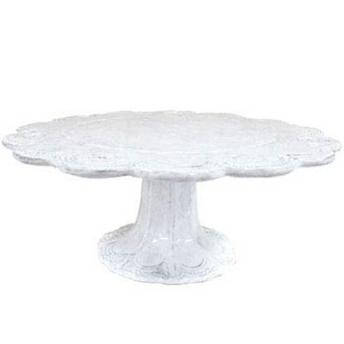 VIETRI Incanto White Lace Large Cake Stand $238.00