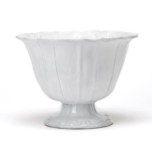 Vietri Incanto White Pedestal Bowl (Limited Edition) $281.00