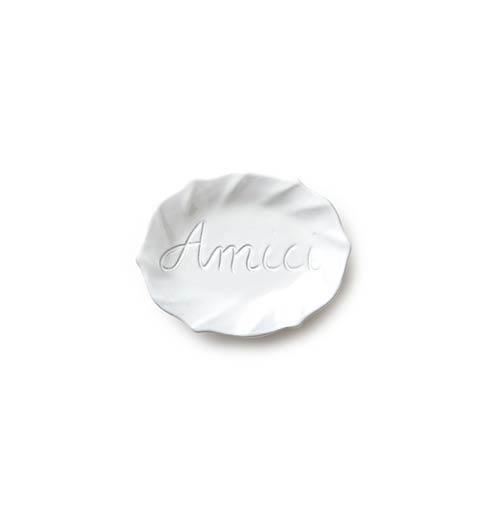VIETRI Incanto White Ruffle Amici Plate $20.00