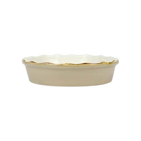 VIETRI   Italian Bakers Cappuccino Pie Dish $39.00