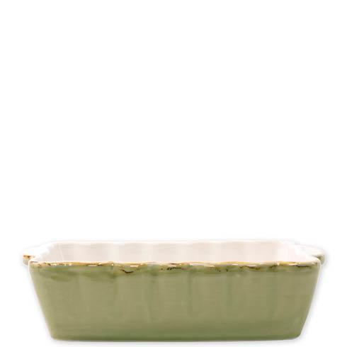 Vietri  Italian Bakers Green Small Rectangular Baker $34.00