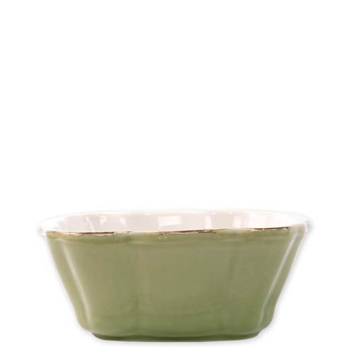 VIETRI  Italian Bakers Green Small Square Baker $35.00