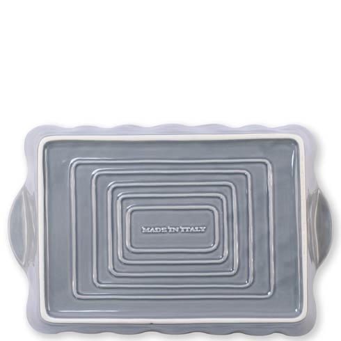 $44.00 Gray Large Rectangular Baker