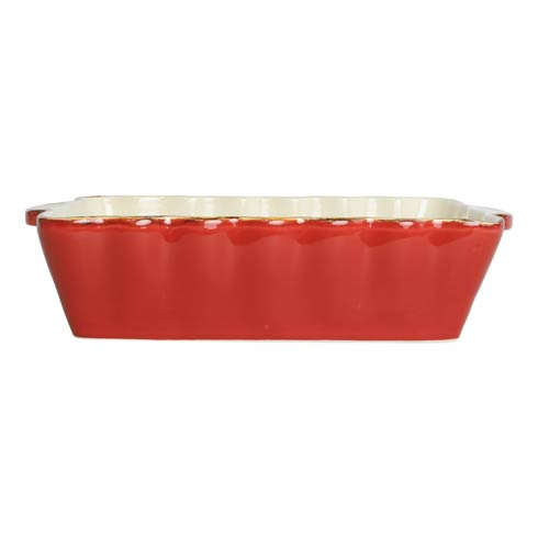$41.00 Red Medium Rectangular Baker