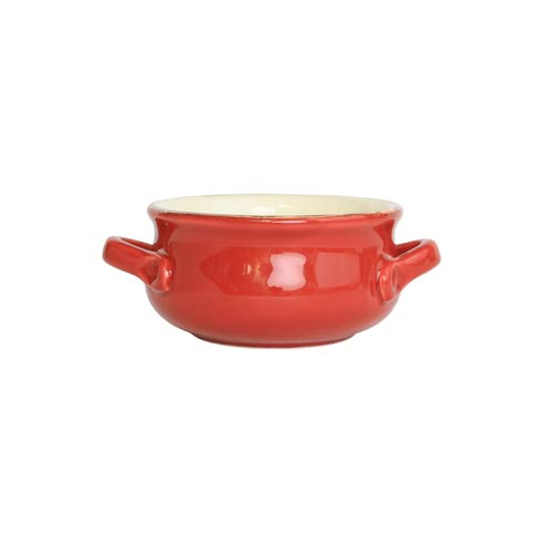 $35.00 Red Small Handled Round Baker