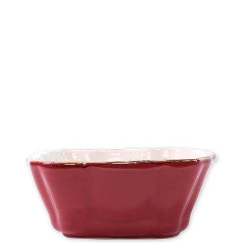 Vietri  Italian Bakers Red Small Square Baker $35.00