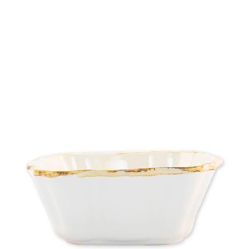 $34.00 White Small Square Baker
