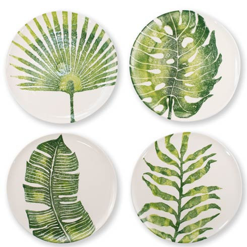 $160.00 Into the Jungle Assorted Dinner Plates – Set of 4