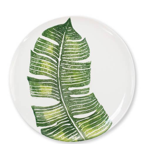 $40.00 Into the Jungle Banana Leaf Dinner Plate