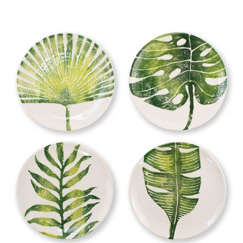 $144.00 Into the Jungle Assorted Salad Plates – Set of 4