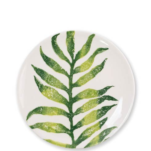$36.00 Into the Jungle Arica Palm Leaf Salad Plate