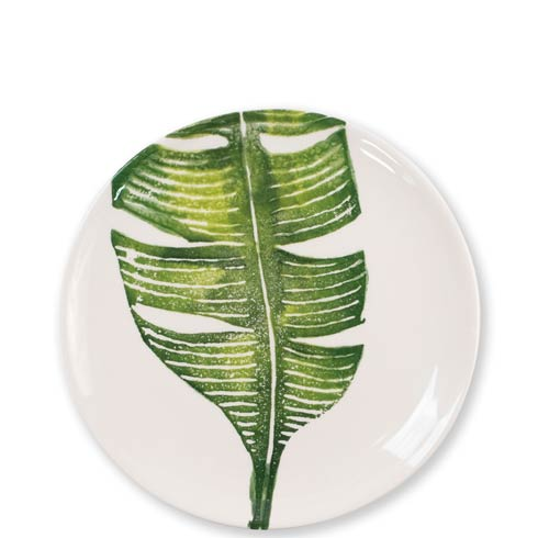 Vietri  Into The Jungle Banana Leaf Salad Plate $36.00