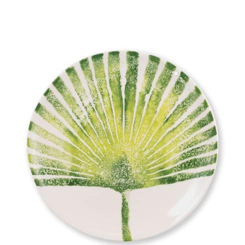 Vietri  Into The Jungle Palm Leaf Salad Plate $36.00