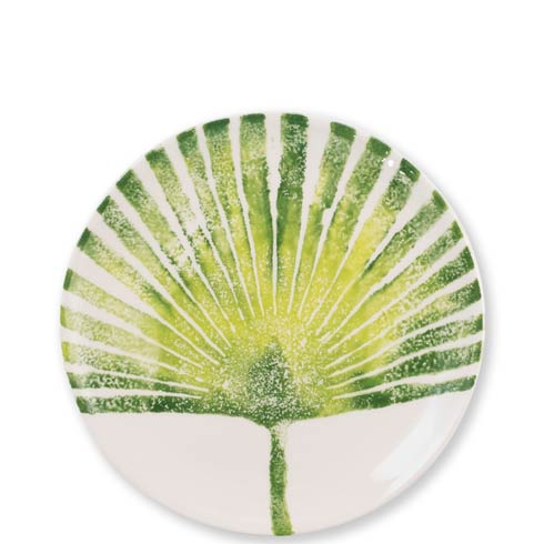 Vietri  Into The Jungle Palm Leaf Salad Plate $36.00