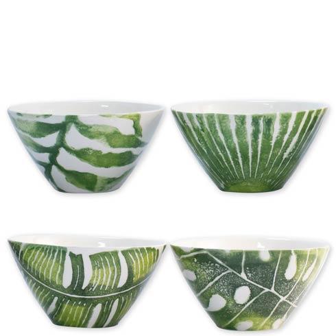 $144.00 Into the Jungle Assorted Cereal Bowls – Set of 4