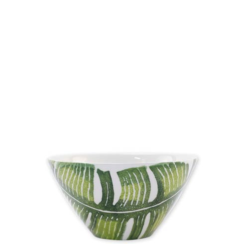$36.00 Into the Jungle Banana Leaf Cereal Bowl