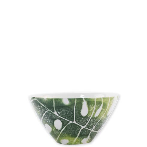 $36.00 Into the Jungle Monstera Leaf Cereal Bowl