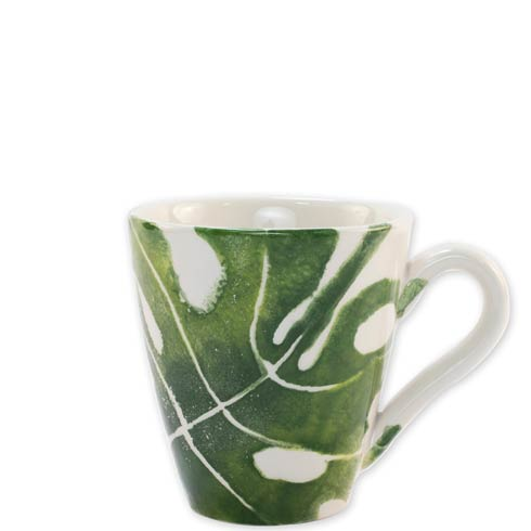 $38.00 Into the Jungle Monstera Leaf Mug