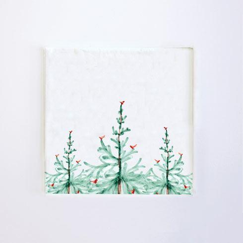 VIETRI Lastra Holiday Cocktail Napkins (Pack of 20) $8.00