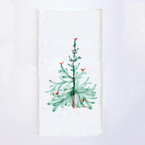 VIETRI Lastra Holiday Guest Towels (Pack of 16) $12.00