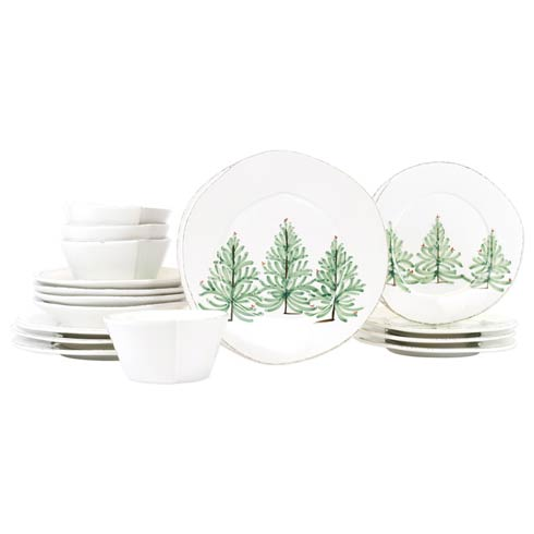 $596.00 Lastra Holiday Sixteen-Piece Place Setting