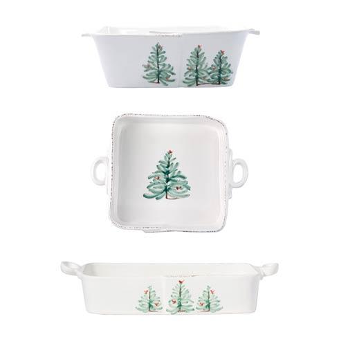 $448.00 Lastra Holiday 3-Piece Bakeware Essentials Set