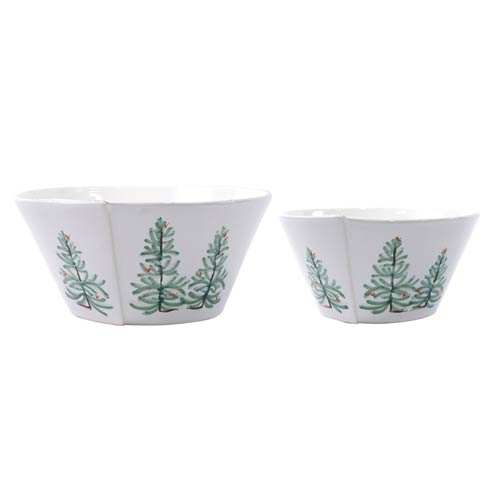 $216.00 Lastra Holiday 2-Piece Serving Bowls Set