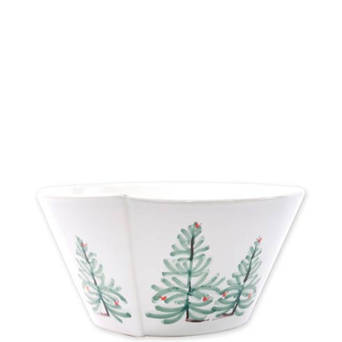VIETRI Lastra Holiday Medium Stacking Serving Bowl $83.00