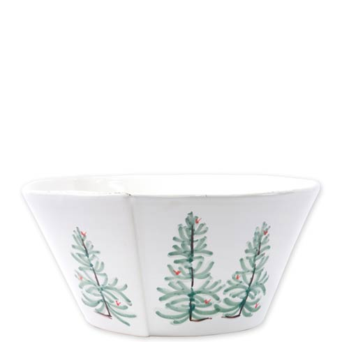 Vietri Lastra Holiday Large Stacking Serving Bowl $133.00